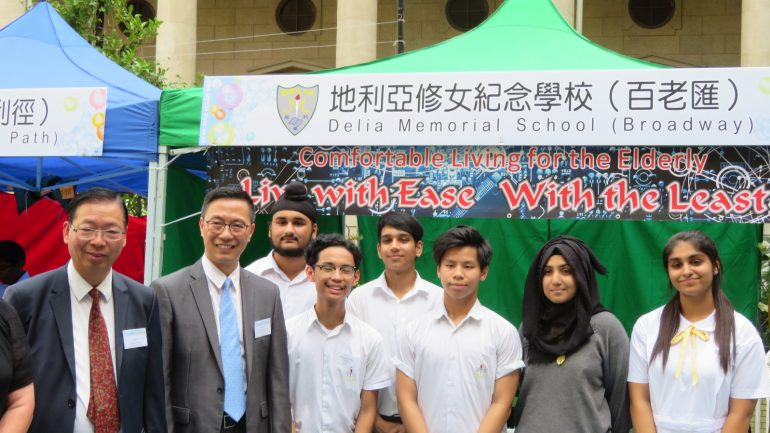 A memorable moment with Mr Kevin Yeung Yun-hung, JP, Secretary for Education
